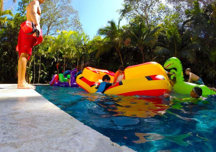 Aquassurance lifeguard keeping watch in South Florida.