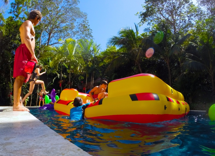 Pool safety with aquassurance